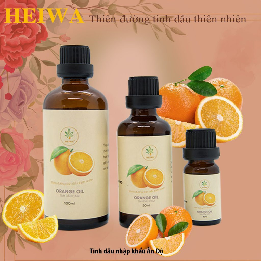 Tinh dầu cam nguyên chất có tốt không?