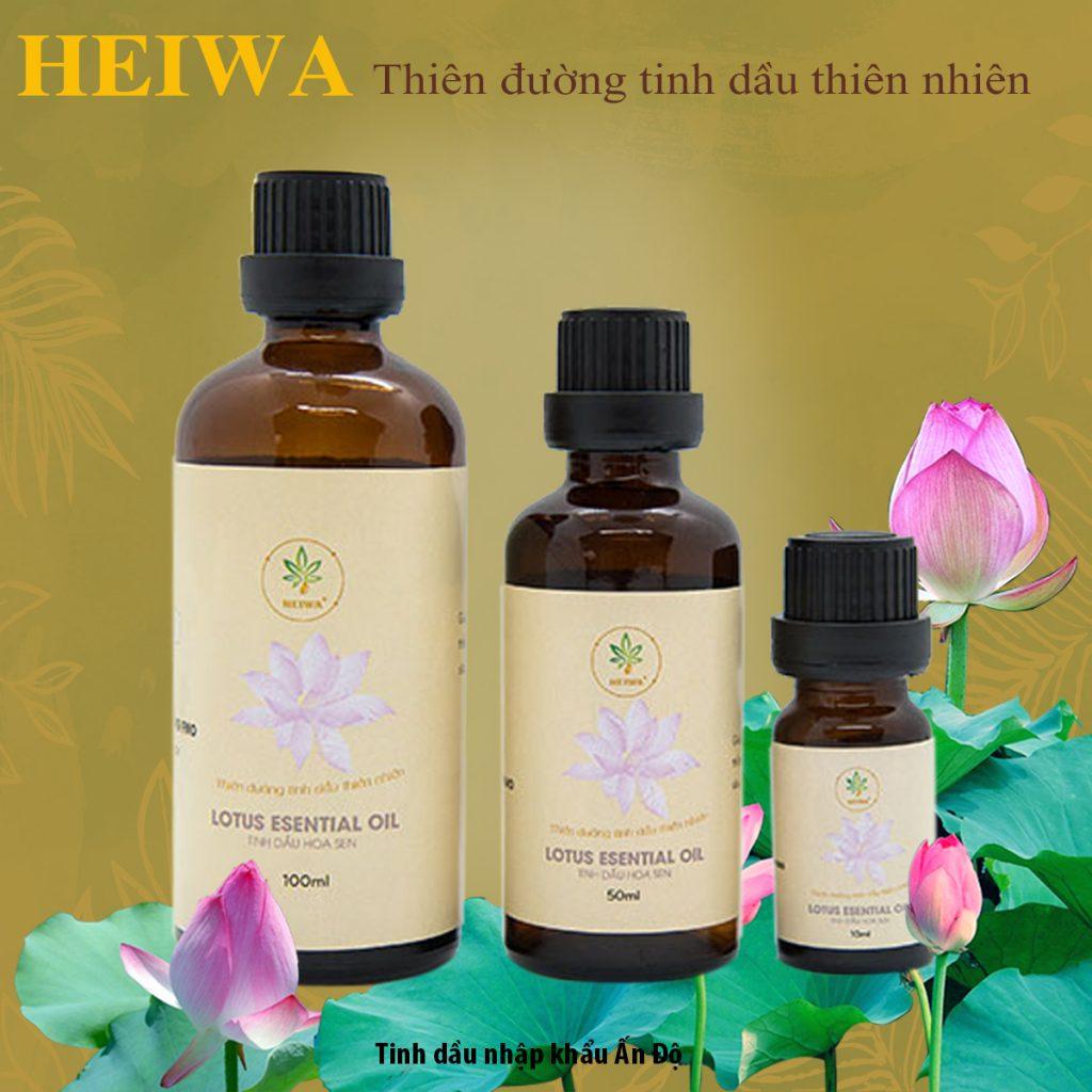 Tinh dầu hoa sen nguyên chất có tốt không?
