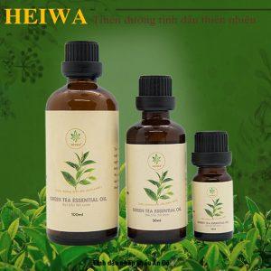 Tinh dầu trà xanh nguyên chất có tốt không?